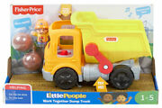 Fisher-price Little People Work Together Dump Truck With Sound Brand New