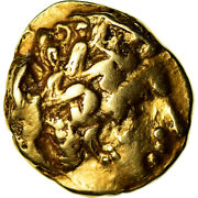 [489557] Coin Aedui 1/4 Stater Ef40-45 Gold Delestrandeacutee3034