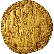 [489566] Coin France Jean Ii Le Bon Royal Dand039or Gold Duplessy293