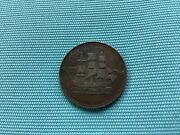 Canadian Edward Island Ships Colonies And Commerce 1/2 Penny Token 1