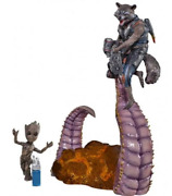 Groot And Rocket 1/10 Art Scale Guardians Of The Galaxy Vol. 2