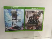 Star Wars Battlefront And Ryse Son Of Rome Microsoft Xbox One Free Fast Shipping