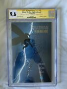 Batman The Dark Knight Returns 1 Cgc Ss 9.6 Signed By Miller And Sketch Janson