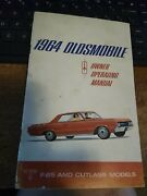 1964 Oldsmobile Cutlass F-85 Owners Operating Manual User Guide