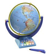 Geosafari Jr Talking Globe, Interactive With Duel Swivel And Stylus, 1000 Facts
