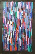 Mira Maodus - Painting Acrylic On Canvas - Untitled Abstract 1986 - 1988