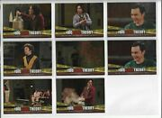 Big Bang Theory Season 3 And 4 Trading Cards Foil Elevator Insert Cards Lot Of 8