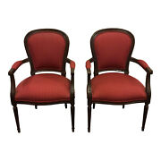 Ethan Allen Accent Chair Chairs Modern Vintage French Occasional Pair