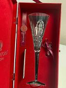 Waterford Crystal 12 Days Of Christmas Lismore Flutes - 10 Lords A Leaping