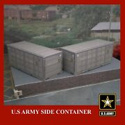 Rail Freight Shipping Containers Army Cma Coca-cola Cosco Csx Dhl Ho Gauge