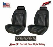 Sport R Front Bucket Lowback W/headrest Upholstery For 1970 Camaro -tmi Products