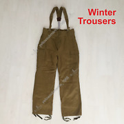 Winter Trousers Pants Afghanka Ussr Military Uniform New Old Army Stock 80sand039