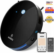 Moosoo Super Slim Robot Vacuum Cleaner 1800pa Strong Suction Mt-501 App Wifi Usa