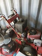 48 Red Hawk Commercial Walk Behind Mower Briggs And Stratton