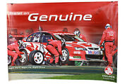 Signed Todd Kelly Holden Insist On Genuine Poster Vy Commodore