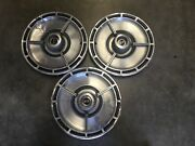 63 1963 Chevy Chevrolet Impala Nova Ss Hubcaps Wheel Covers Spinners