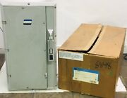 Crouse Hinds Nst1426f-d Krydon 100 Amp Enclosure New In Box