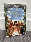 Rare Complete And Tested Disney's The Jungle Book - Rudyard Kipling's Dvd 2002