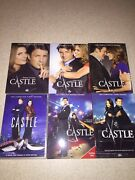 Castle Tv Series 1, 2, 3, 4, 5 And 6 Season Collection Disc Box Sets Used