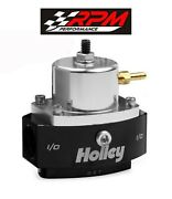 Holley 12-880 Return Fuel Pressure Regulator 6an Boost Reference Efi To Carb
