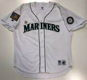 Ken Griffey Jr. 1994 Mariners Authentic Russell Jersey 52 Diamond Collection