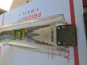 Williams Taxi Pinball Machine Arrivals Right Ramp Used In Poor Warped Condition