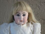 Stunning Antique Sh Simon And Halbig 939 Doll Bisque Head 19 Doll Compo Body Jd5