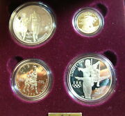 1995 Us Olympic Coin Of The Atlanta Centennial Olympic Games With Gold