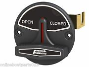 Flow-rite Brand Livewell Boat Control Valve Open/closed Typesilver Letters Rk1