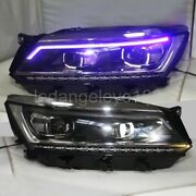 Led Strip Headlights For Vw Passat Nms A Cangue Of Blue 2016-2018 Year Ld