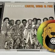 The Essential Earth, Wind, And Fire 2 Cd Set Vg+ Us Rare Soul 2002 Sony Music