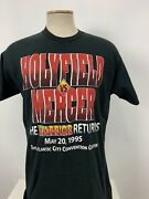 1995 Vintage Holyfield Vs Moore T-shirt Size Extra Large Accept Offers
