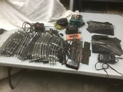 """Vintage Lot Of Lionel """"o"""" Scale Switches, Curved Track, Straight Track And More"""