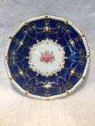 Vintage Royal Crown Derby 12 9 Plates, 3 11 Serving Bowls, 1 Flat And 2 Footed