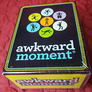 New Sealed Awkward Moment Game Play Learn Fun Hobby 2012 Tilt Factor Party Fun
