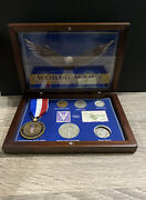 World War I Historical Collection Vf Wheat Pennybuffalo Nickelstamps Medal ++