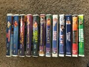 Walt Disney Previously Owned Black Diamond Vhs And Additional Vhs Movies.