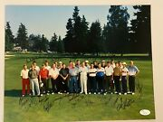 Arnold Palmer And Many More 1991 Fred Meyer Challenge Signed Full Jsa Free Ship