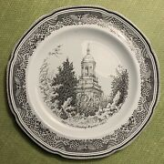 1967 The Reading Hospital Historical Plate, Reading, Pa, Copeland Spode, Vintage