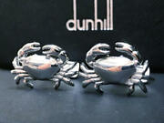 Alfred Dunhill Cufflinks Crab Ag925 Mens Accessories Cufflinks Only Used Good