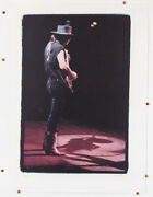 Stevie Ray Vaughan Srv Signed Print Soul No 0/65 W. A. Williams Lithograph Litho