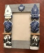 Vintage Official Nhl Licensed Toronto Maple Leafs 3' X 4.5 Photo Frame Preowned