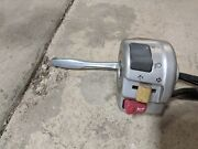 2006 Yamaha Xc50 Xc 50 Vino Scooter Left Hand Control Switch Lever Perch Signal