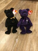 Beanie Baby The End And Princess Bears