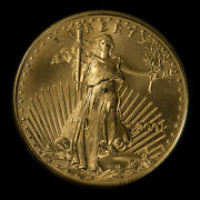 2001 25 1/2 Oz Gold American Eagle Bu Coin Better, Low Mintage - G1058