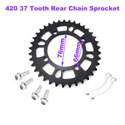 420 37 Tooth Rear Chain Sprocket For Chinese Dirt Trail Bike Motorcycle Parts