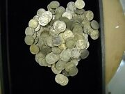 2 Lbs Or 180 Plus Or Minus Buffalo Nickels With Dates Free Shipping