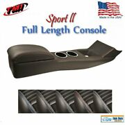 Full Length Sport Ii Console For 1967 - 68 Mustang Coupe Fastback W/o Ac