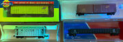 N Scale Chicago North Western Cnw Rolling Stock Lot Eandc 65andrsquo Mill Gon Box Hopper