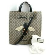 Animalier Blind Love Bee Supreme Tote Shopper 2way With Strap 872974